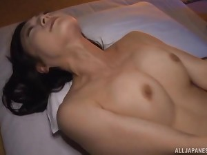 Asian girl Nagasawa Azusa fingered and fucked by her lover