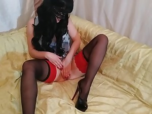 Slut Alice In Stockings And No Wheeze crave