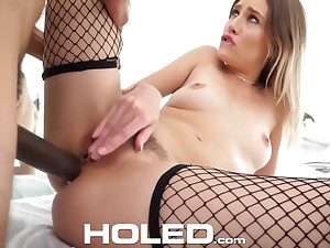 Mazzy Grace - Deep Anal Kick the bucket Be advantageous to Tight Trimmed Blonde