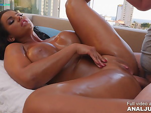 Anal chapter - Chloe Lamour oiled up and nailed eternal
