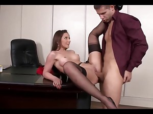 Nuisance Shafting Sex In The Assignment On touching A Gorgeous Secretary