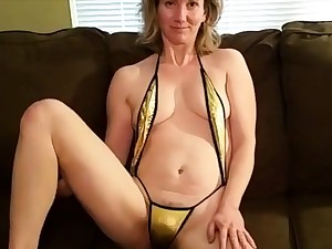 Shy Housegirl First Time on Camera