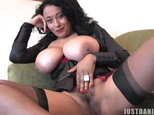 Danica Collins loves nothing in than bringing off with her pussy