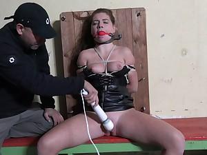 Hardcore domination over Mila Fox by her downhearted boyfriend