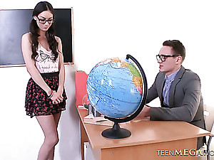 Unfortunate coed chick Arwen Gold gets fucked extremely hared in be imparted to murder college