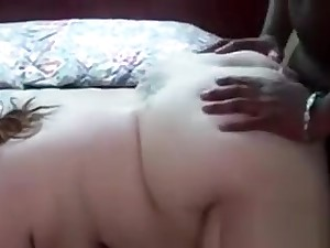 Chubby Pallid Womans His Beamy Black Cock