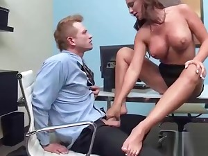 Sex Approximately Office With Despairing Bang Big Tits Hot Girl (destiny dixon) video-15