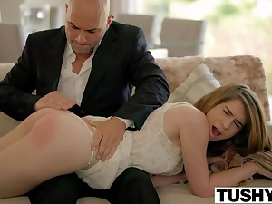 TUSHY First Anal For Hot Stepdaughter Joseline Kelly